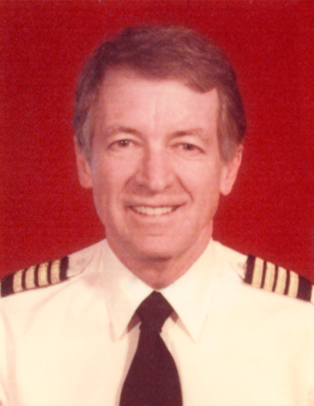 portrait of Capt. Bob Johnson